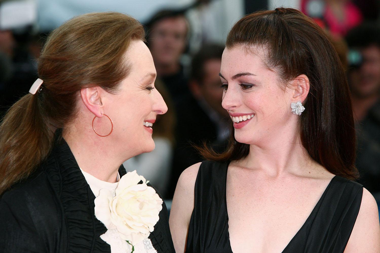Meryl Streep y Anne Hathaway.