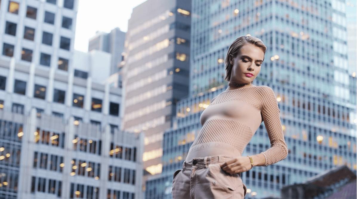 La nueva campaña de Dior Addict Lipstick Stellar tiene a Cara Delevingne como imagen