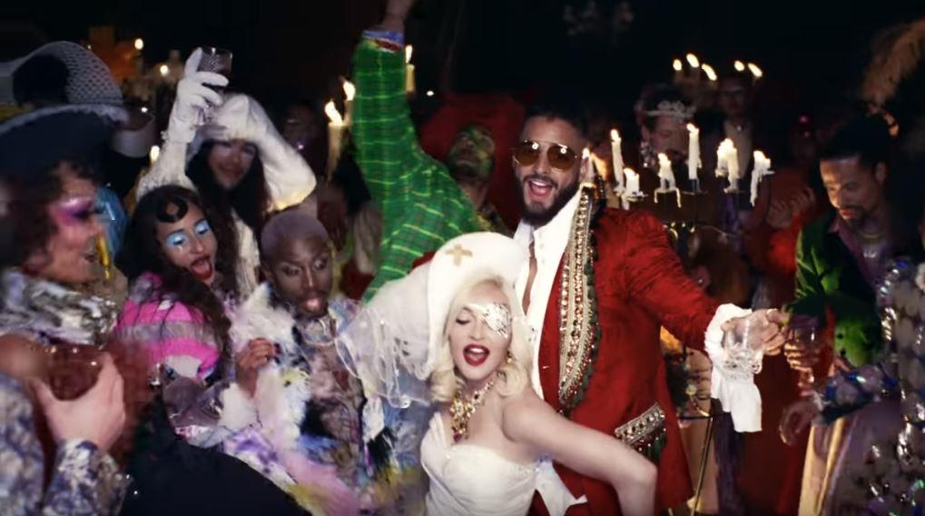 Madonna elige a Palomo Spain en su video con Maluma