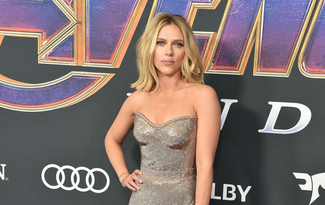 Scarlett Johansson en la premiere de Avengers: Endgame