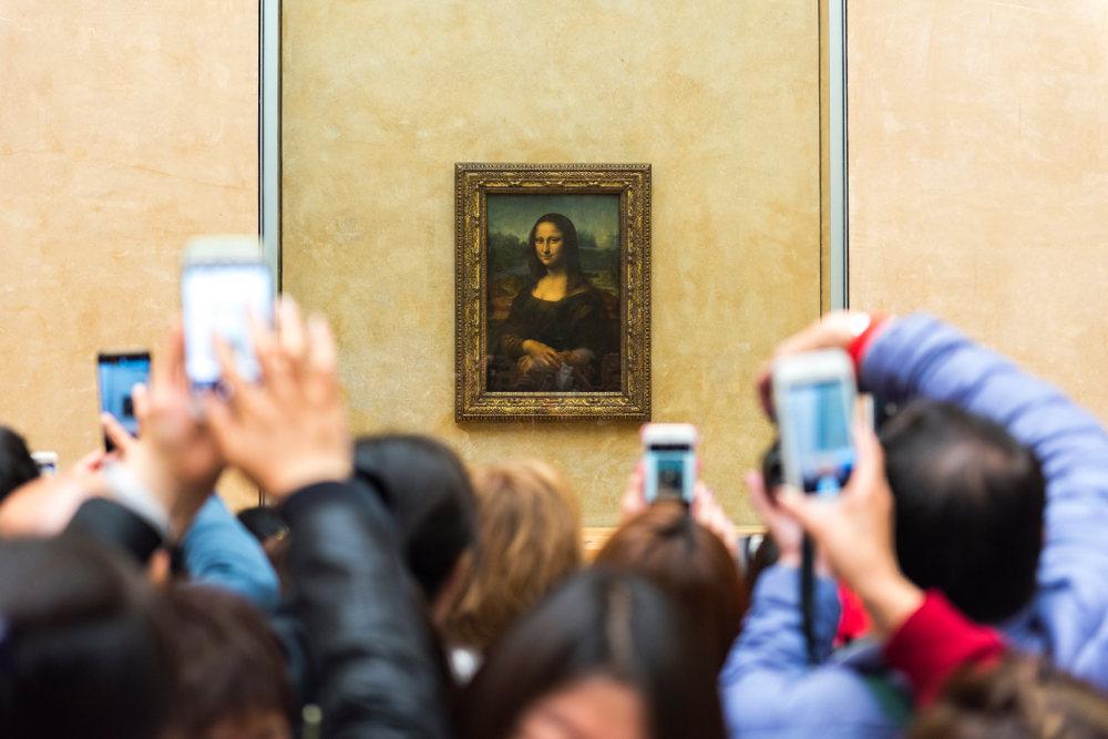 Ahora puedes dormir con la Mona Lisa