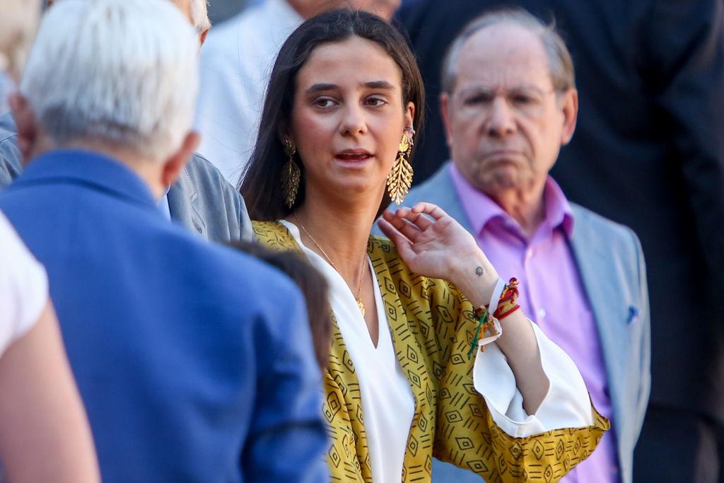 Victoria Federica, la hija de la Infanta Elena, en Las Ventas.