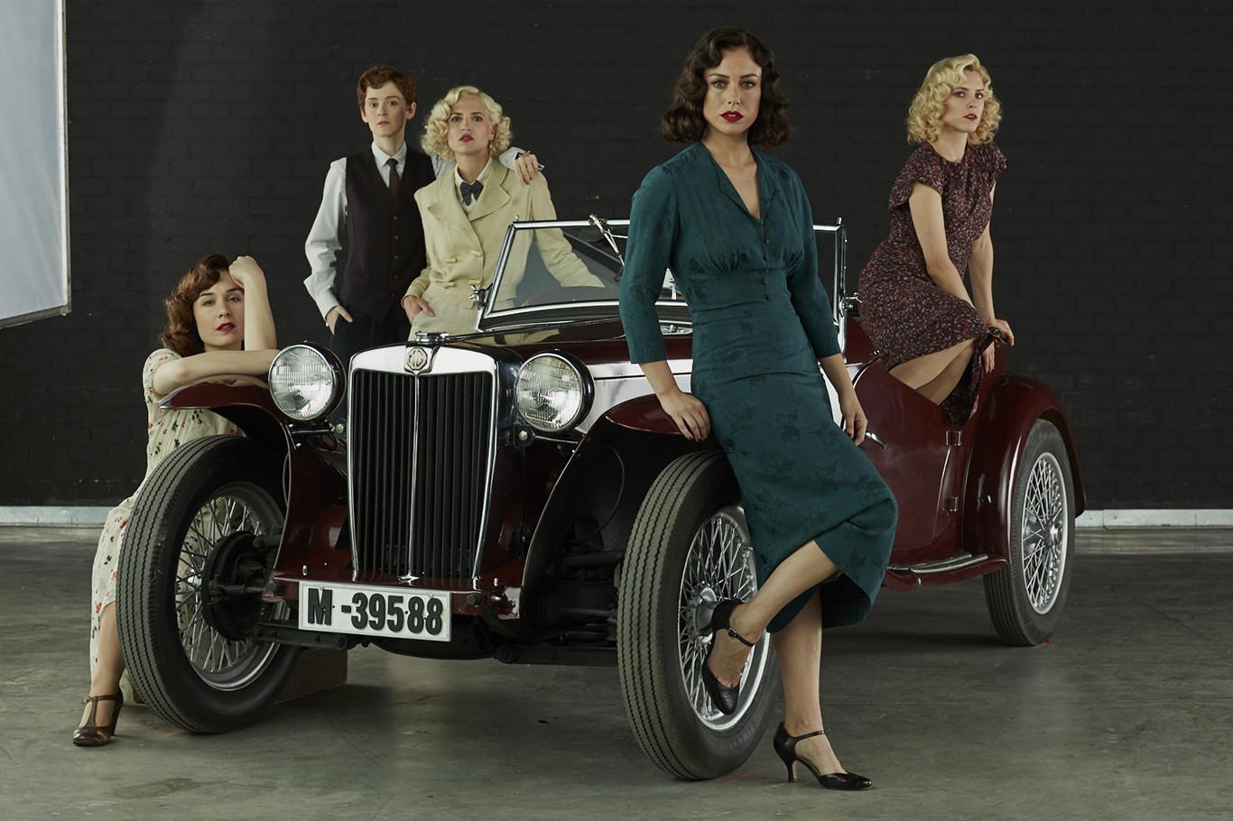 Ya hay trailer oficial de Las chicas del cable cuarta temporada y están guapísimas