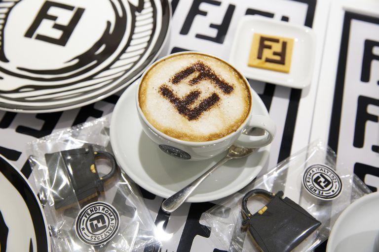 El café Fendi en Harrods