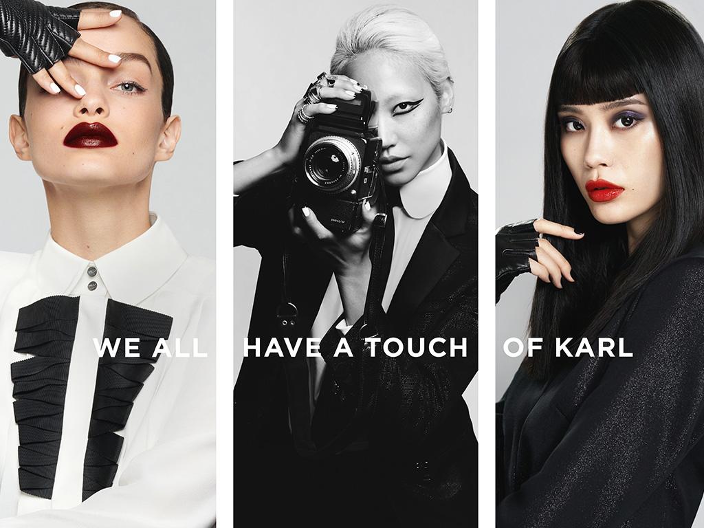 Así es la colección de maquillaje de Karl lagerfel y L'oreal Paris