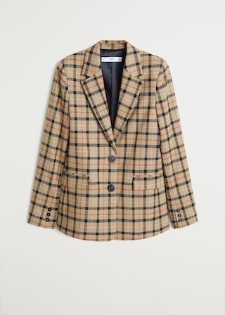 Copiamos el look de Victoria Beckham con estos blazer de cuadros