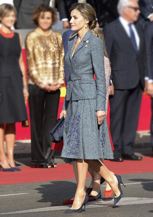 Todos los looks de la reina Letizia en el Día de la Fiesta Nacional