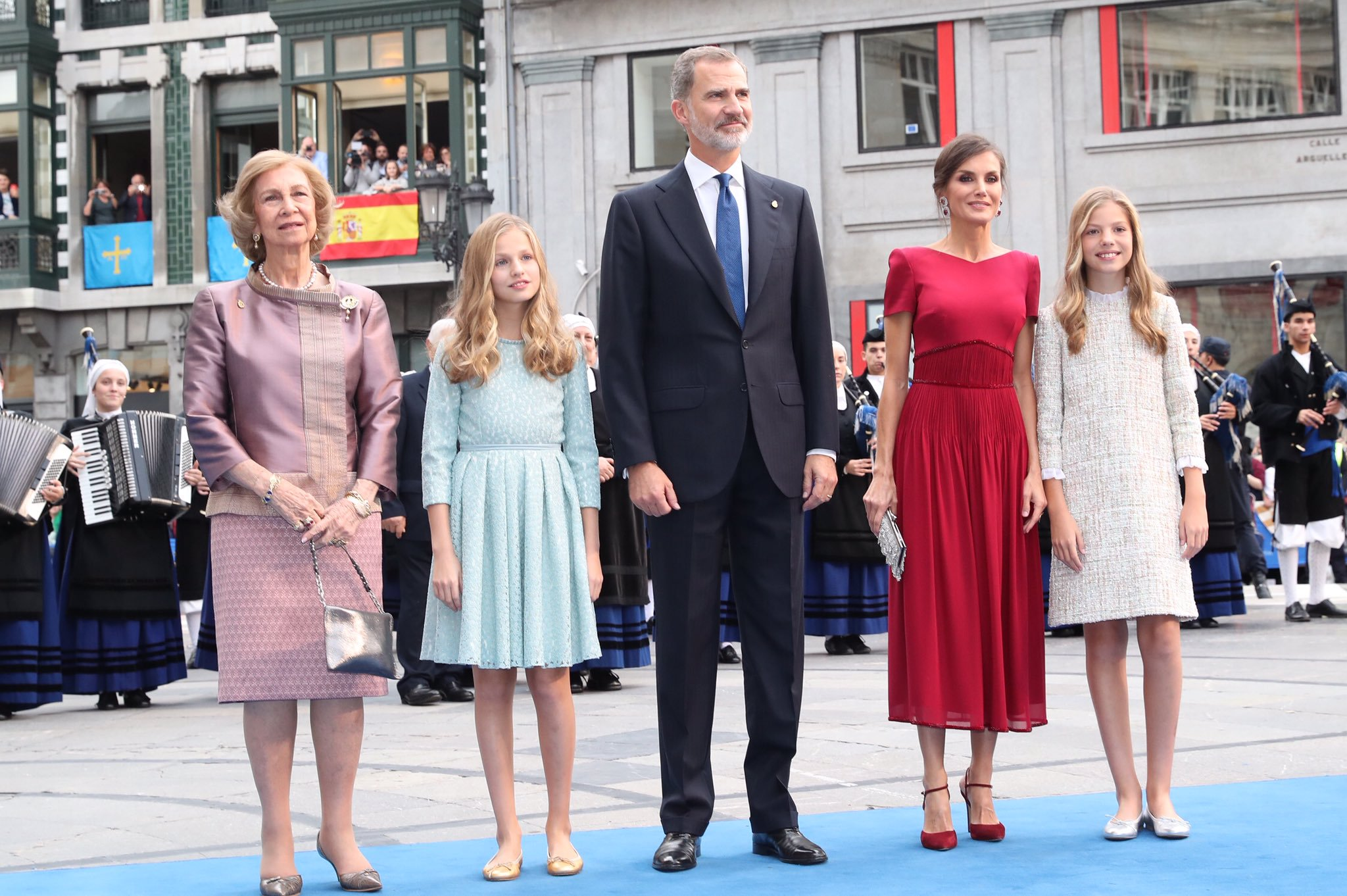 La princesa Leonor debuta en los premios Princesa de Asturias 2019