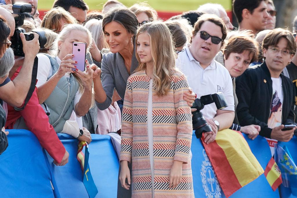 La princesa Leonor ya está en Oviedo para su primer discurso en los Premios Princesa de Asturias