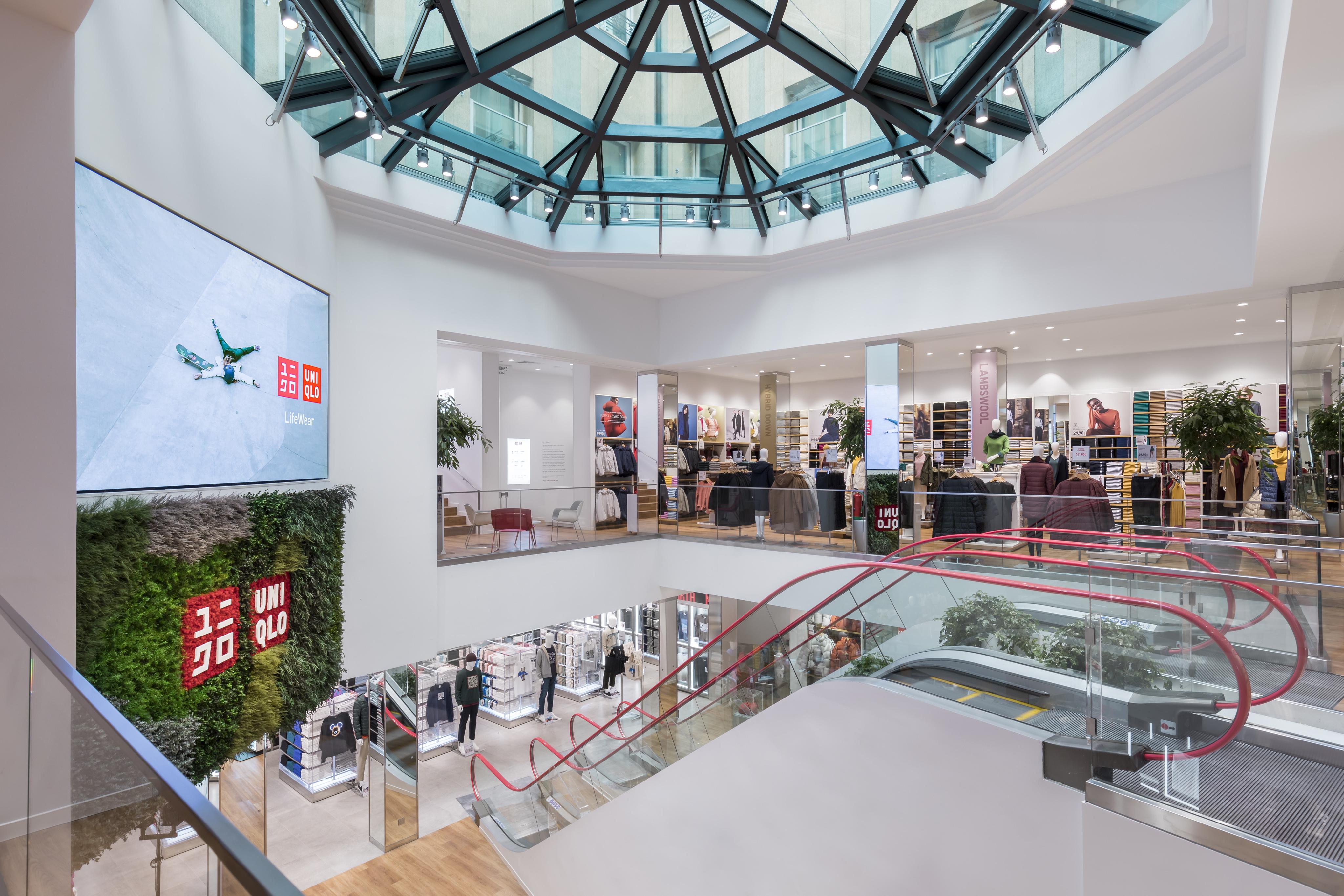 Uniqlo abre el 17 de octubre su primera tienda en Madrid