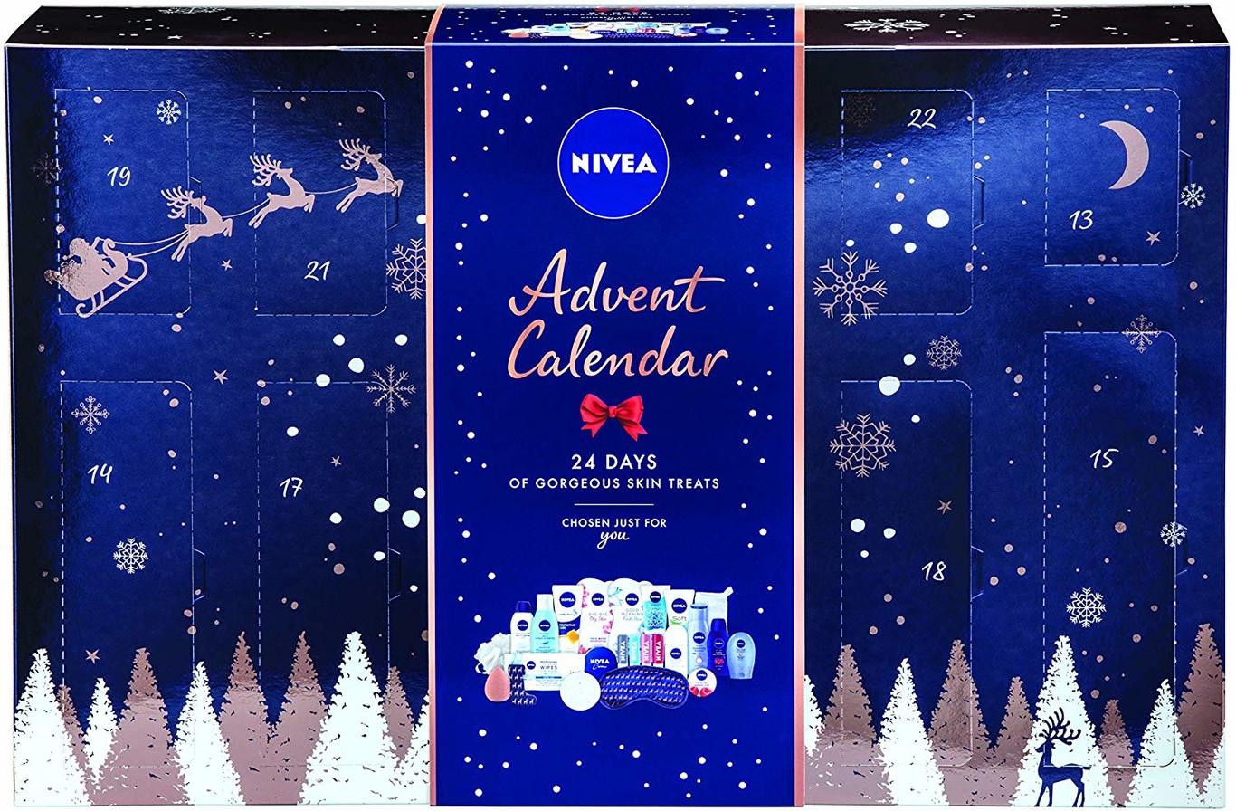 12 calendarios de adviento de belleza para celebrar la navidad 2019