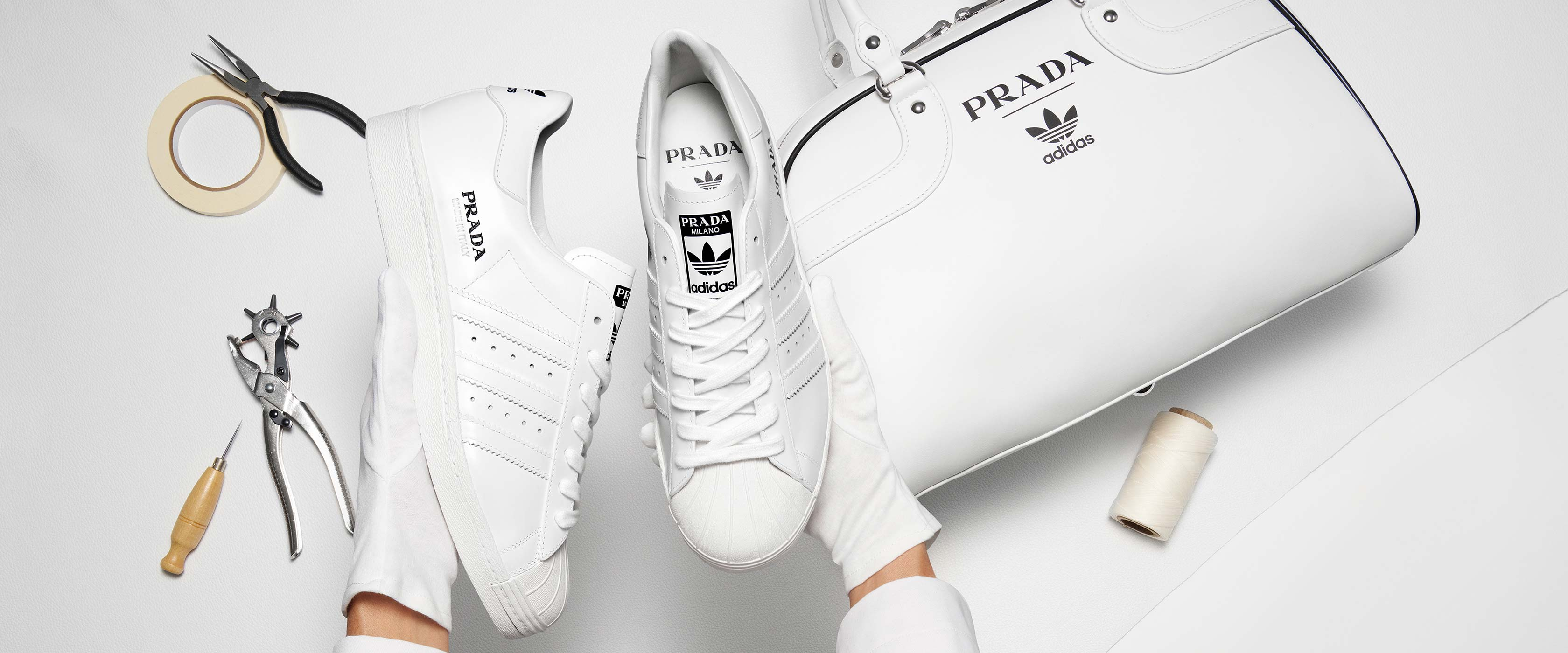 Ya sabemos cómo es la colección de Prada con Adidas