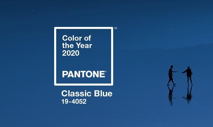 El color 2020 según Pantone será el Classic Blue