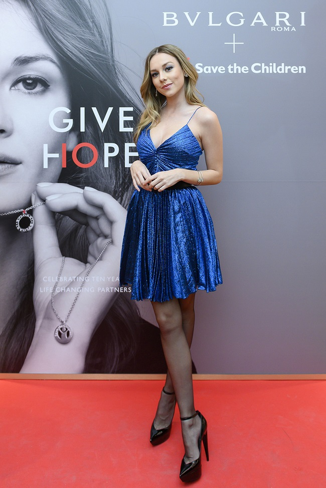 Bulgari y Save the Children celebran con una fiesta en Madrid sus 10 años de colaboración