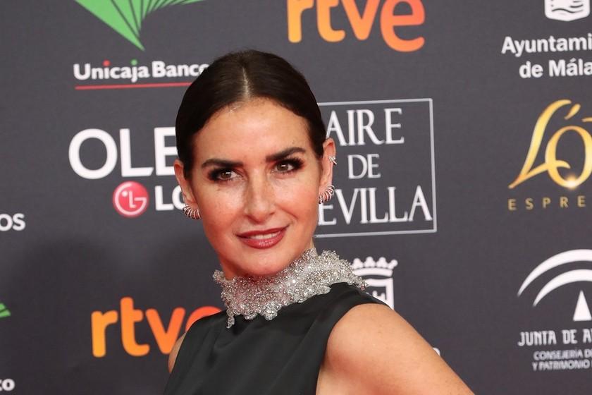 El paso a paso del beauty loo Dior de Belén López en los Goya 2020