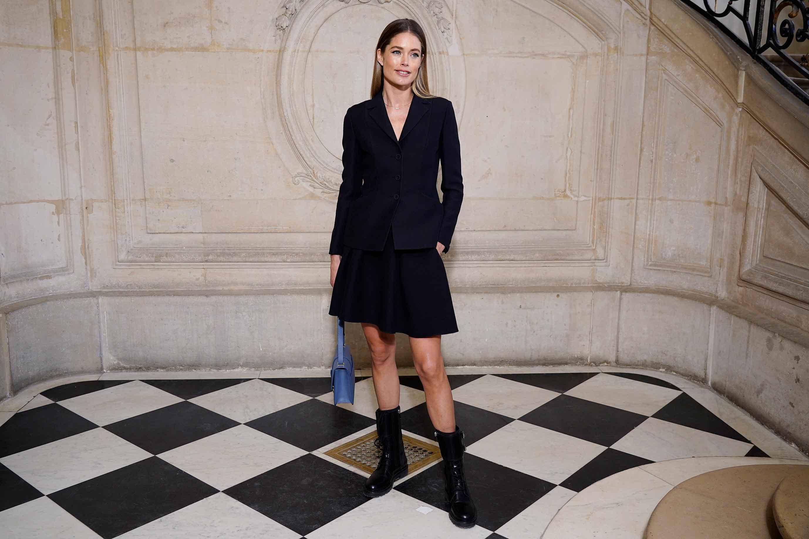 Doutzen Kroes nos lleva por el Atelier de Dior antes del desfile de Alta Costura
