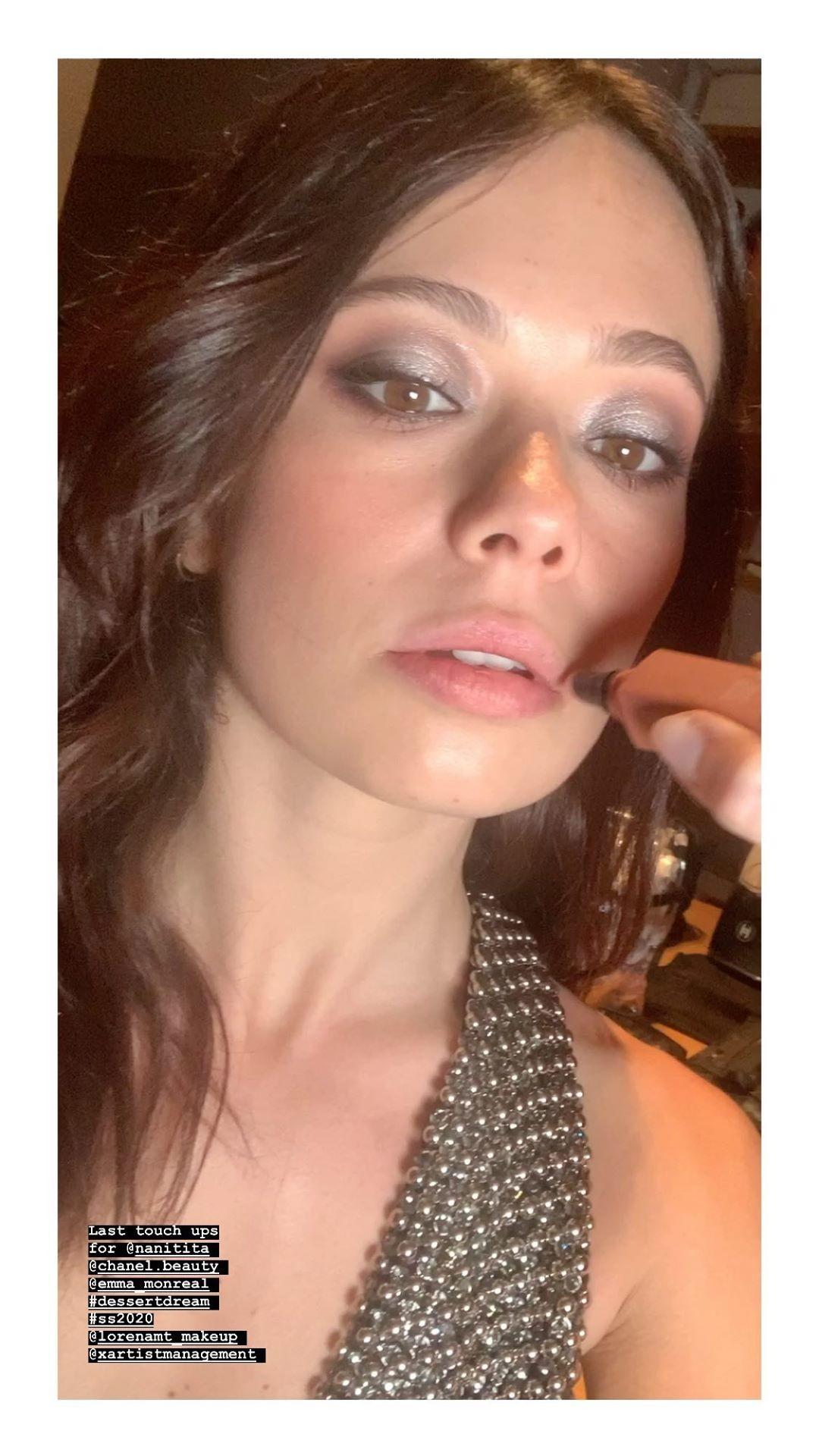 Los secretos del maquillaje de Chanel de Anna Castillo en los Premios Feroz 2020
