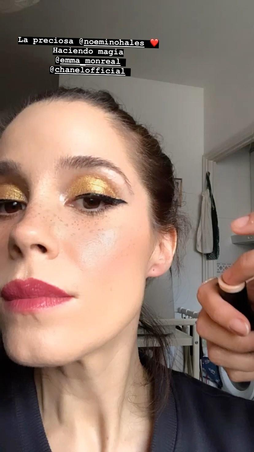 Los secretos del maquillaje de Chanel de Nuria Gago en los Premios Feroz 2020