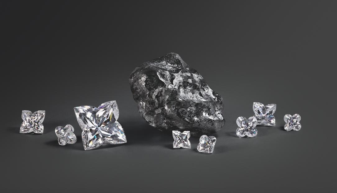 Louis Vuitton adquiere el segundo mayor diamante en bruto jamás descubierto
