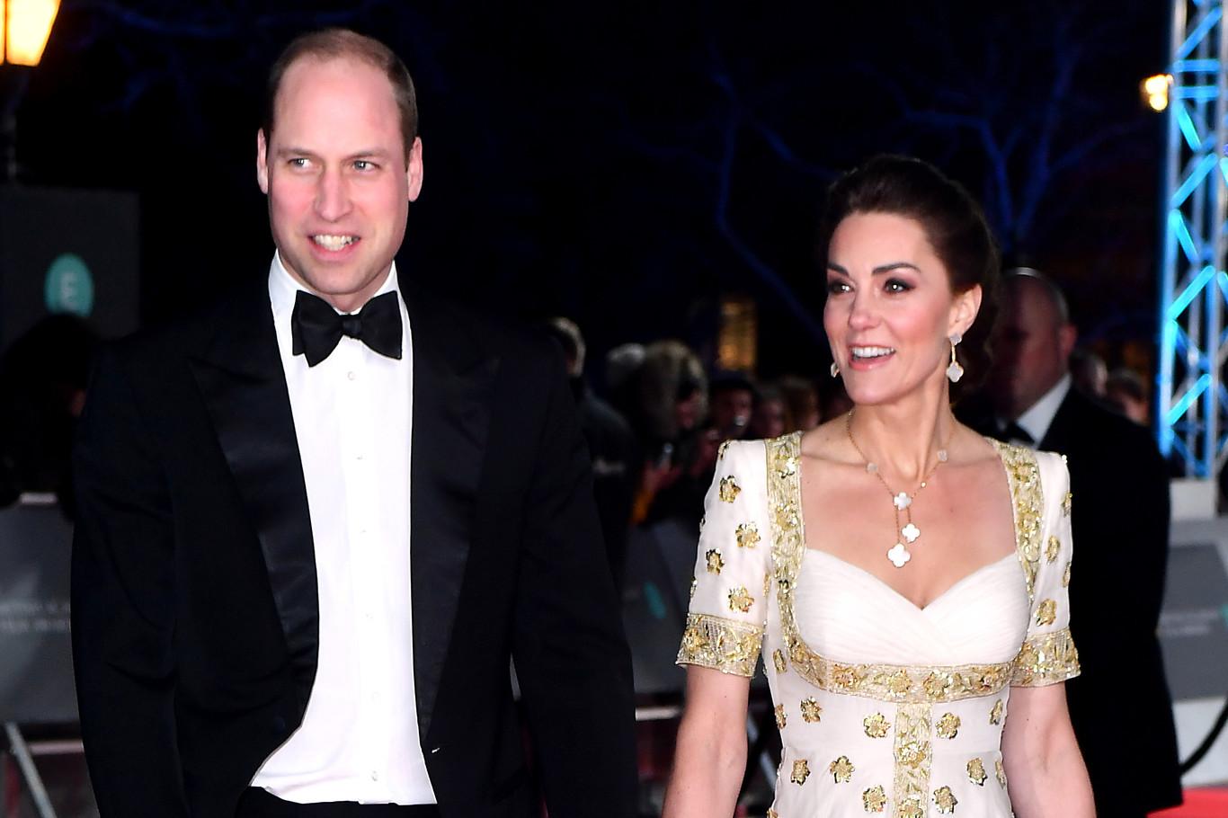 Kate Middleton repite un vestido de Alexander McQueen en los Premios BAFTA 2020