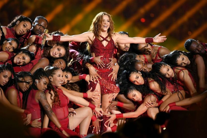 Jennifer Lopez y Shakira brilan en la super bowl más latina de la historia