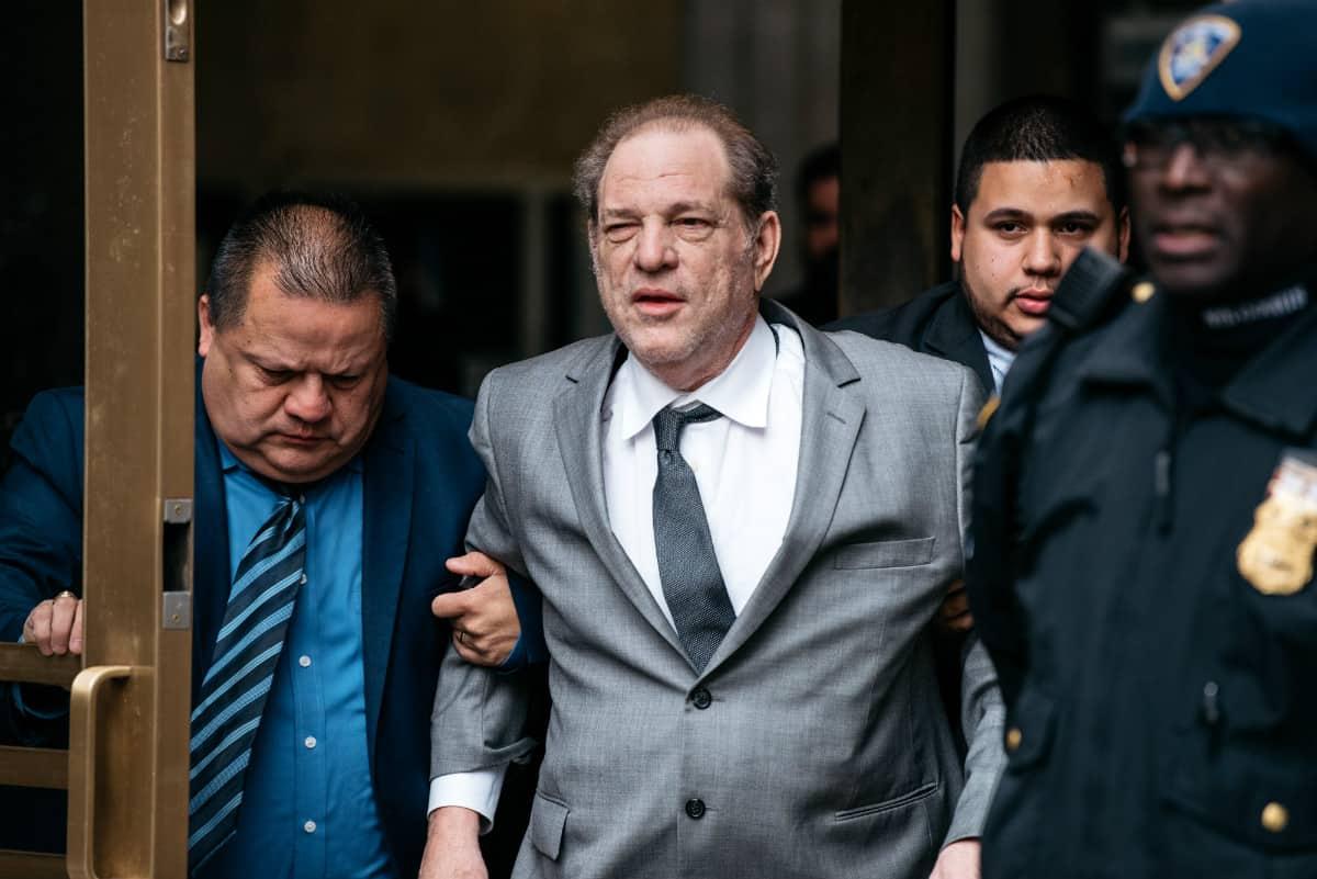 El jurado declara culpable a Harvey Weinstein por los delitos de violación y abuso sexual