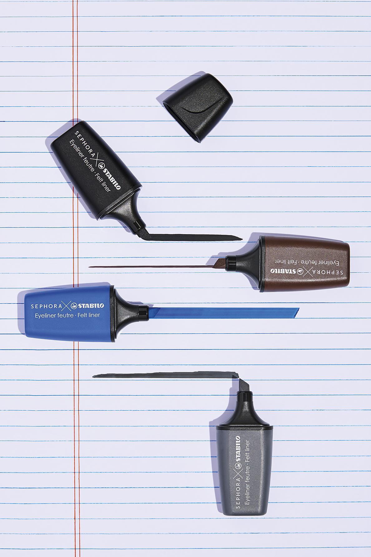 Nuevo objeto de deseo: los rotuladores de Sephora y Stabilo que consiguen el eyeliner perfecto