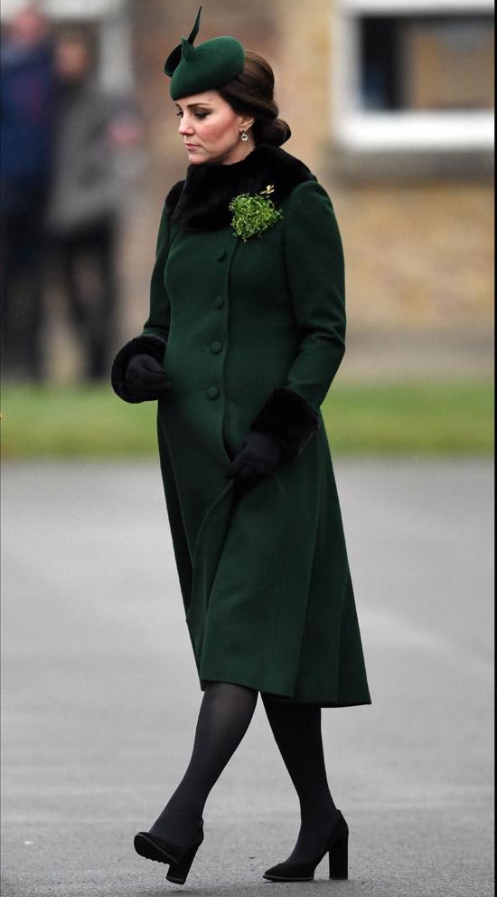 Así eligió Kate Middleton sus últimos looks para celebrar San Patricio