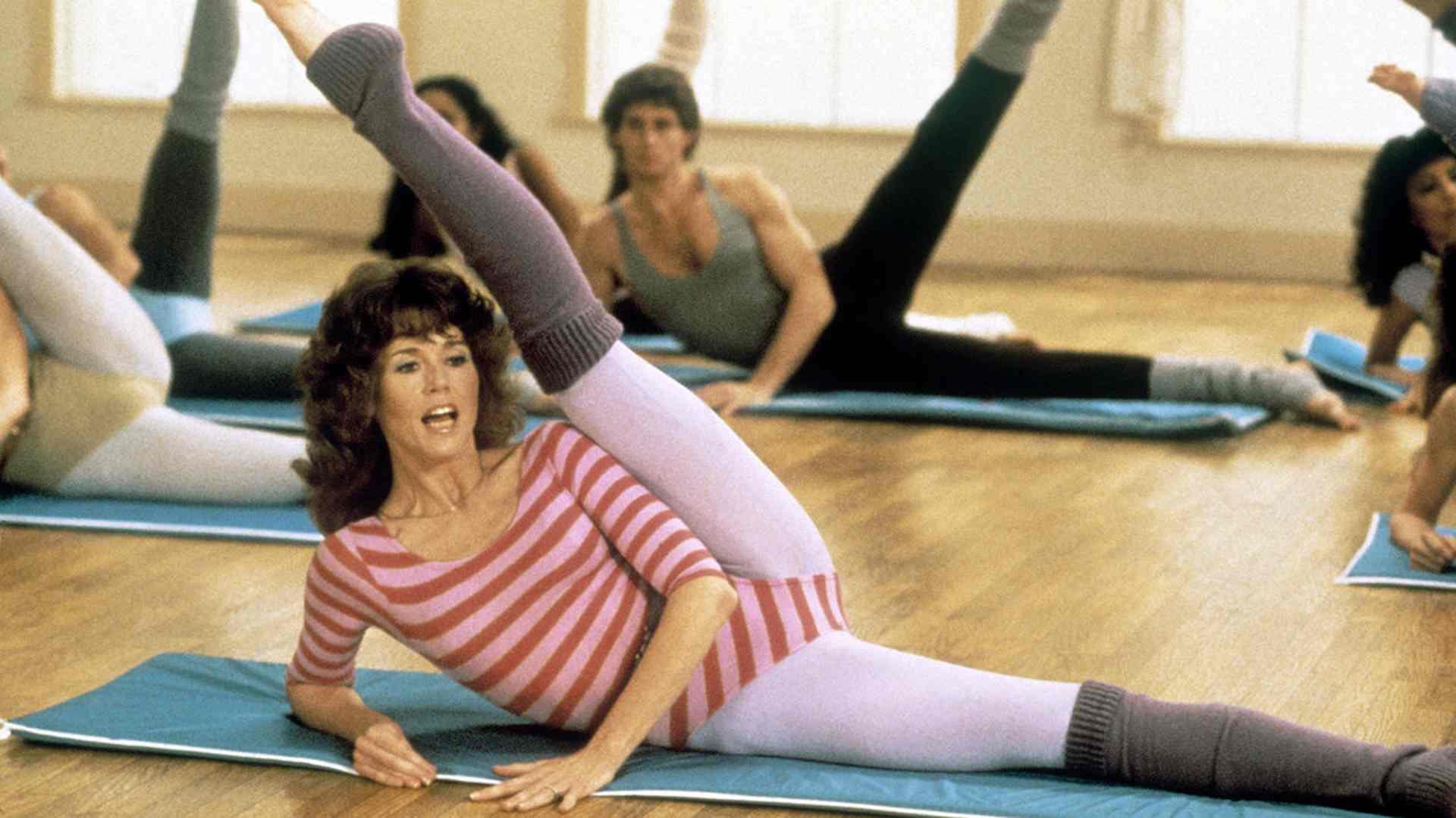 Jane Fonda nos invita a volver a los 80 con su rutina de ejercicios, pero ahora en TikTok