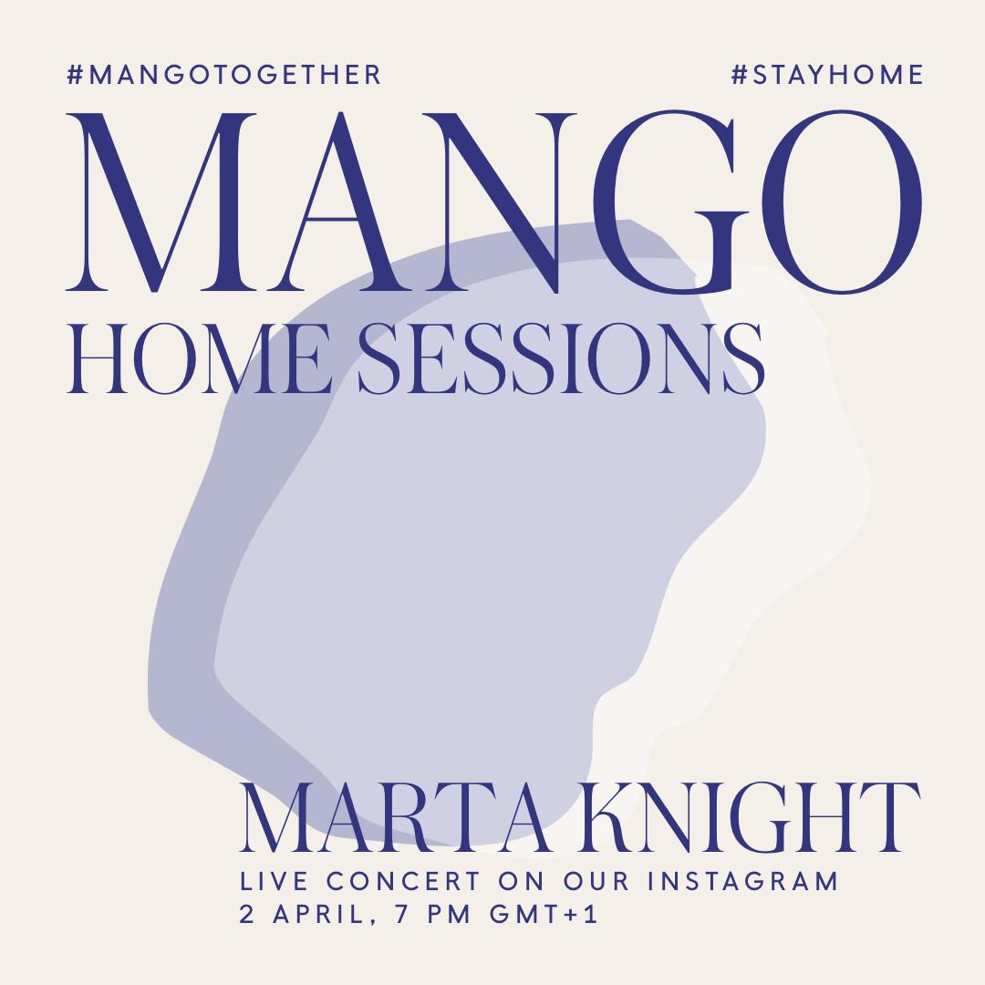 Mango saca su lado más musical y organiza sus 'Home Sessions' a través de Instagram