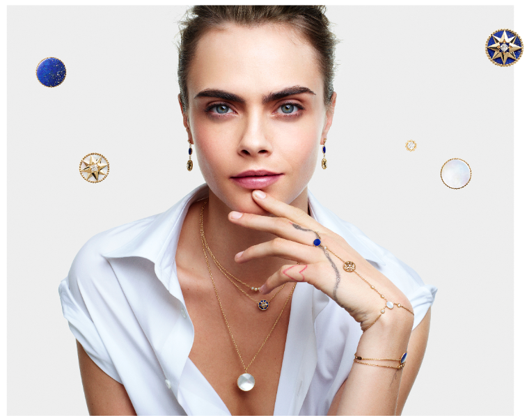 Cara Delevingne presenta lo nuevo de Dior Joaillerie