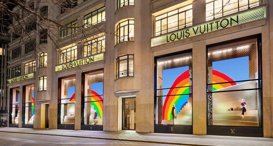 The Rainbow Project: La iniciativa de Louis Vuitton que llena de color sus tiendas en el mundo
