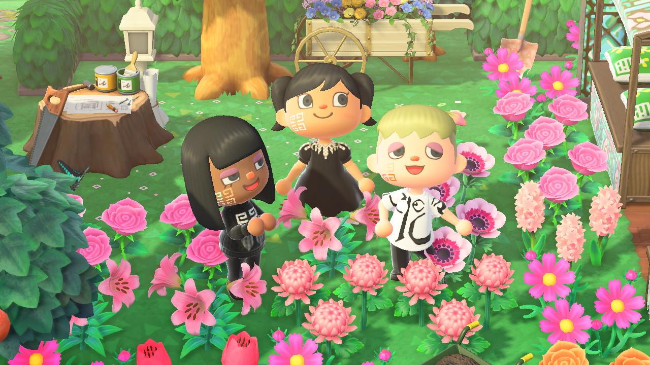 Givenchy diseña en exclusiva los looks de maquillaje del videojuego Animal Crossing