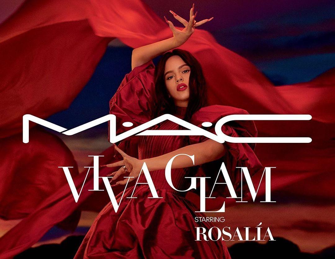 Lo nuevo de Rosalía: embajadora de MAC Cosmetics y protagonista de la nueva campaña MAC Viva Glam
