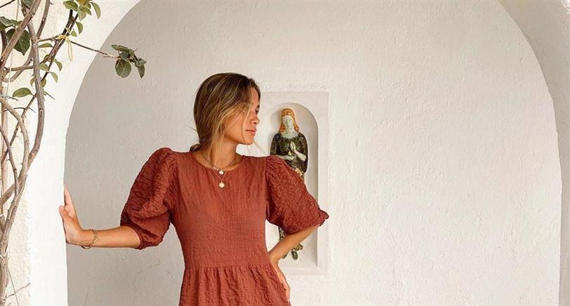 María Pombo tiene el vestido low cost más bonito de Lefties