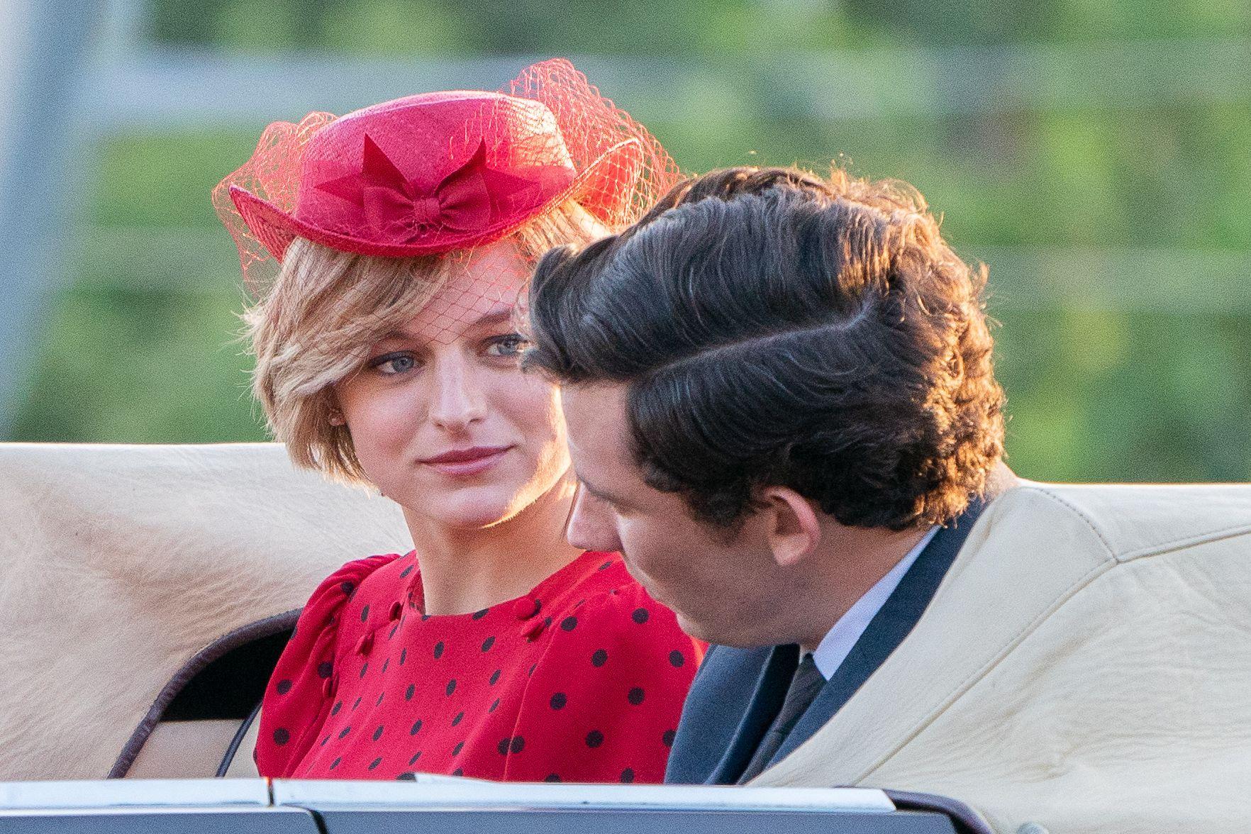 The Crown 4 regresa en noviembre ¡y este es el primer adelanto con Emma Corrin como Lady Di!
