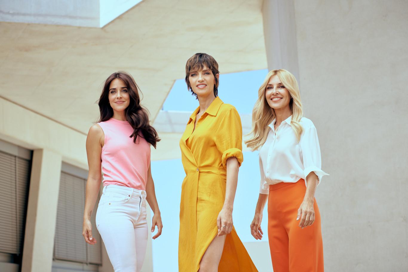 Sara Carbonero, Macarena García y Cayetana Guillén Cuero son las protagonistas de la nueva campaña de Elvive de L'Oreal Paris