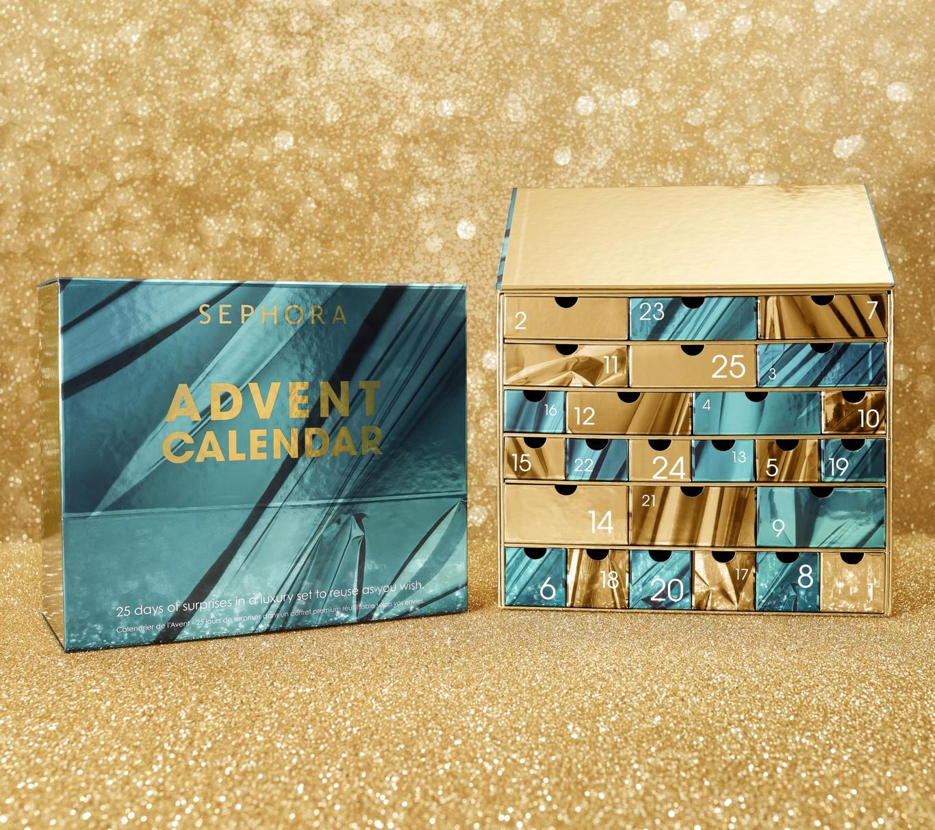 Nuevo objeto de deseo: el calendario de adviento de Sephora (que puede ser tuyo en preventa)
