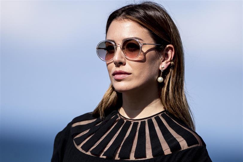 Blanca Suárez revoluciona la alfombra de San Sebastián con su total look Dior que es maravilloso