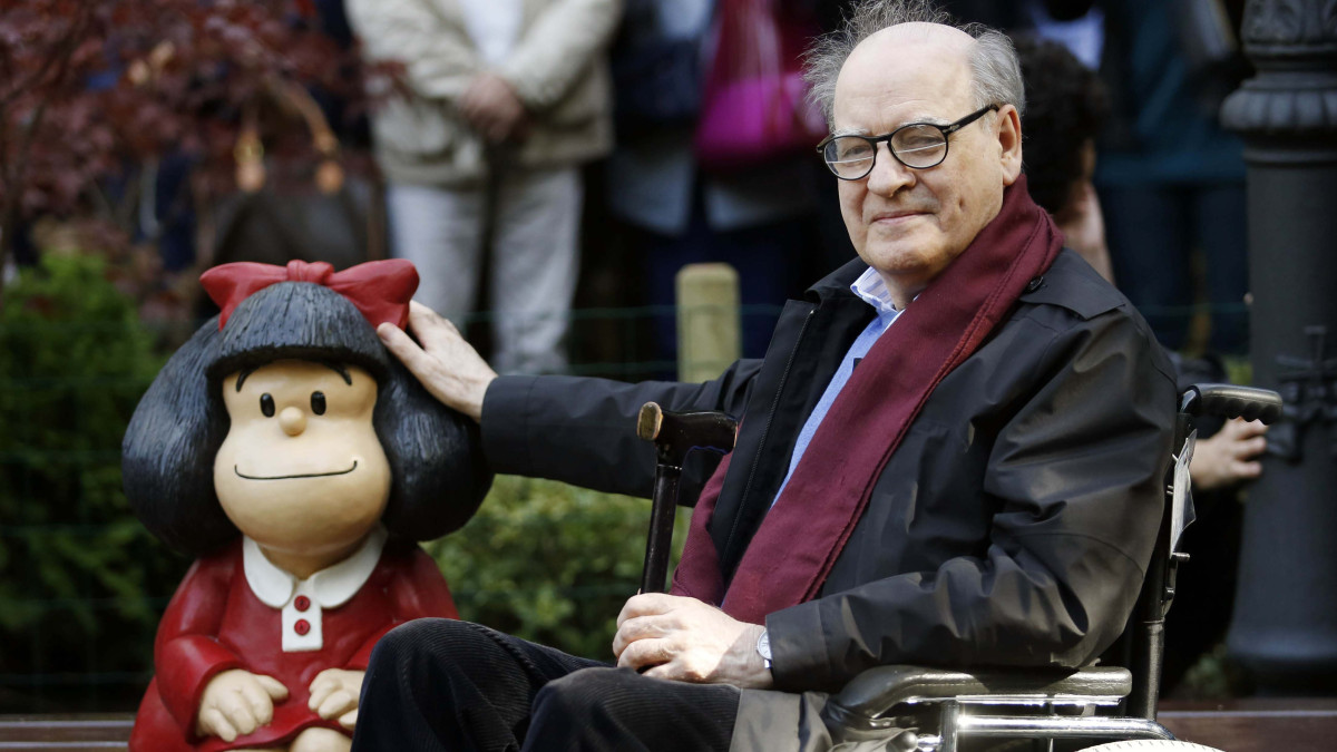 Muere Quino, adiós al creador de Mafalda