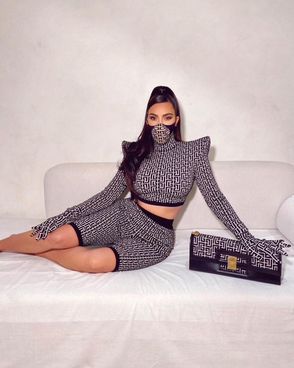 La mascarilla favorita de Rosalía y Kim Kardashian es de Balmain