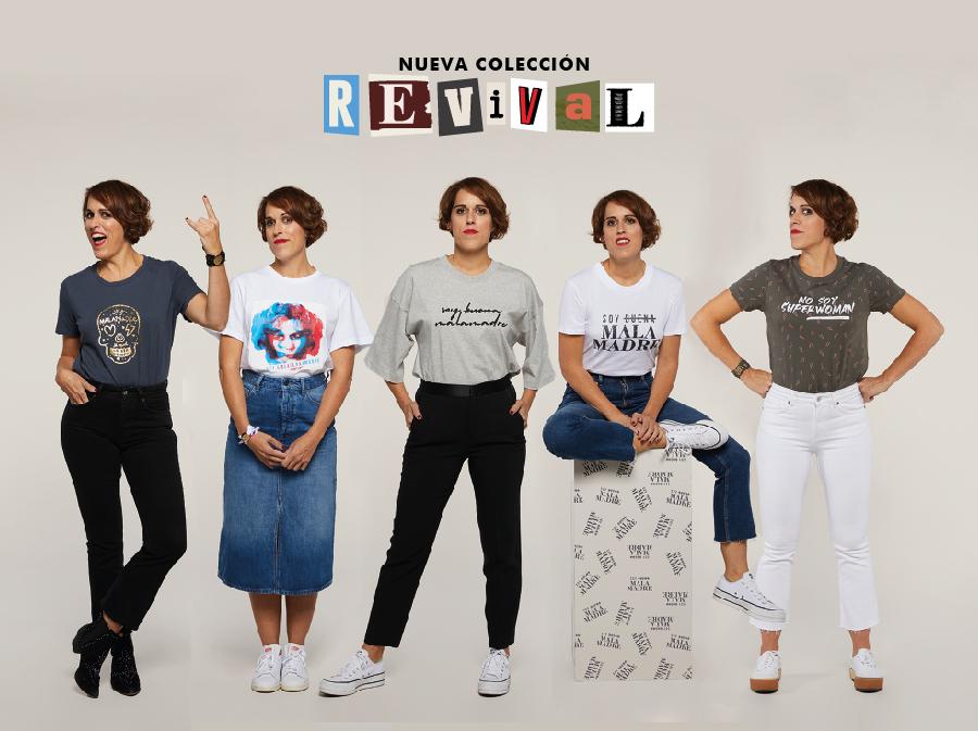 Malasmadres lanza una colección 'Revival' que actualiza sus históricas camisetas
