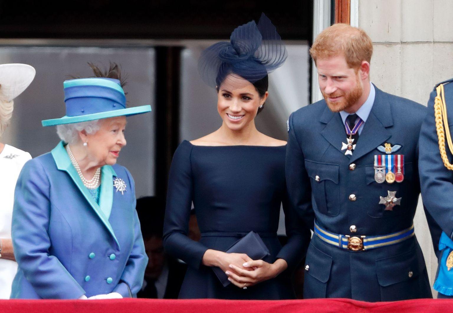 Así planeaba la reina Isabel II que Meghan y Harry fueran felices