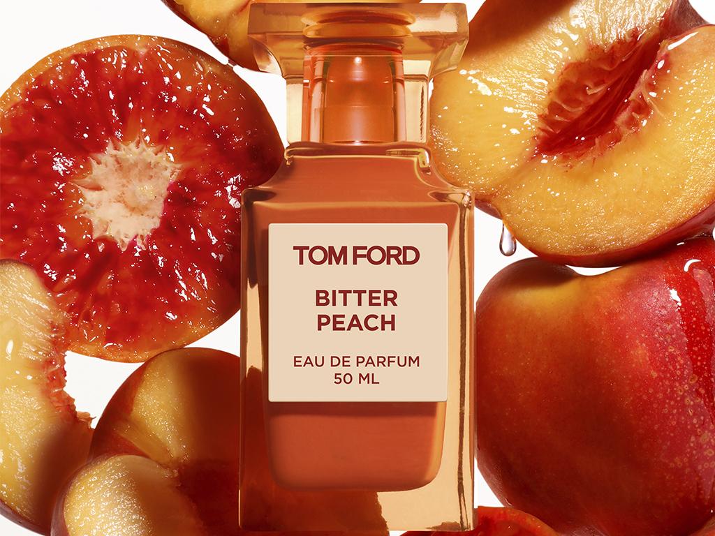 Tom Ford presenta BITTER PEACH, su ultima fragancia Private Blend