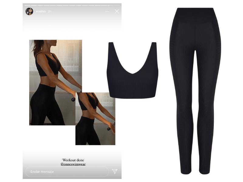 Eugenia Silva tiene el outfit (perfecto) para el gym que querrás copiar