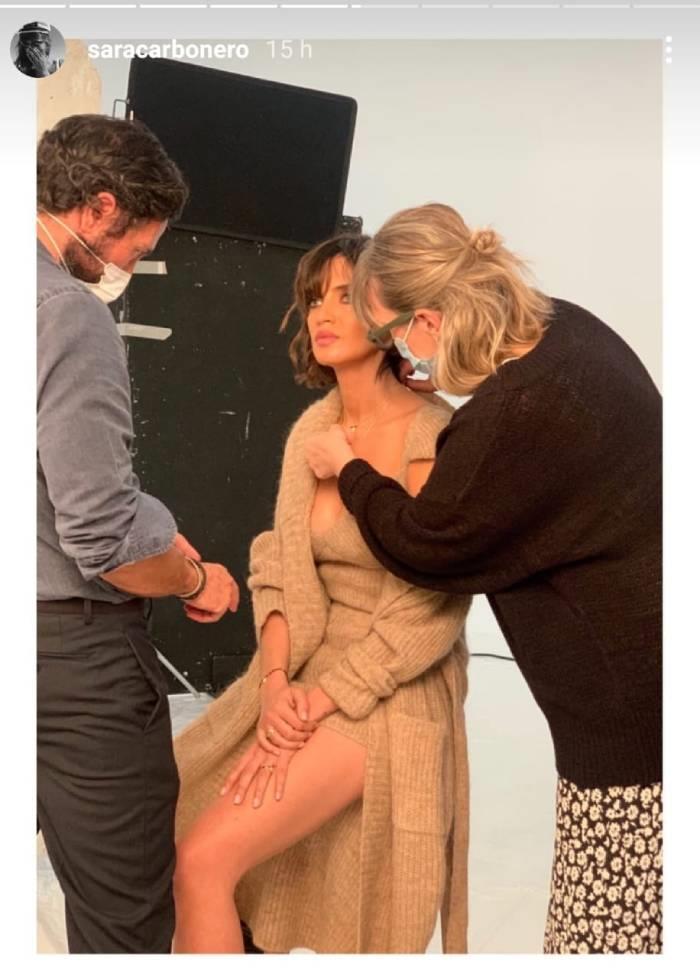 Sara Carbonero tiene el conjunto de punto de Zara más comfy
