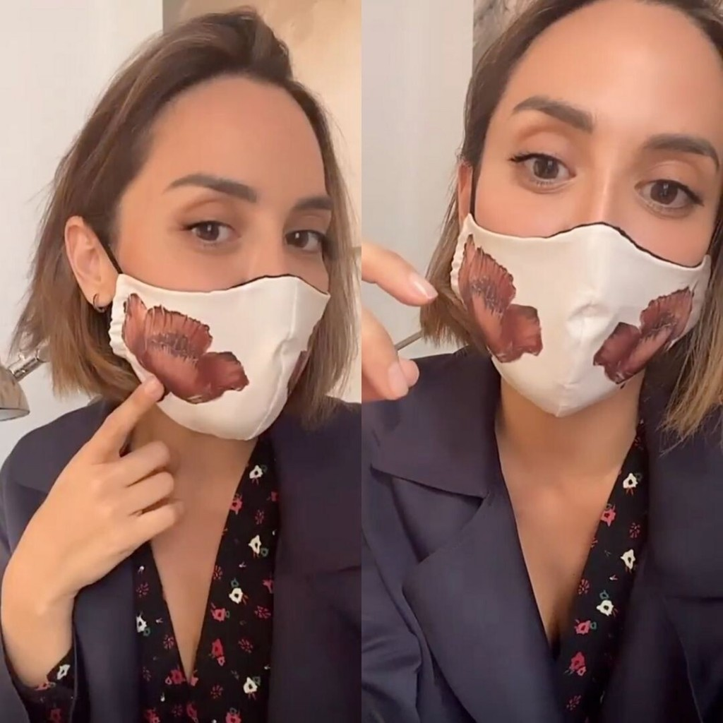 Sabemos de qué marca española es la mascarilla de Tamara Falcó