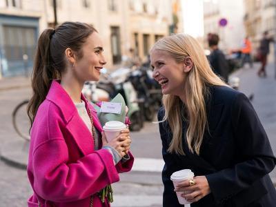 Hubo una escena cancelada en 'Emily in Paris' y es...
