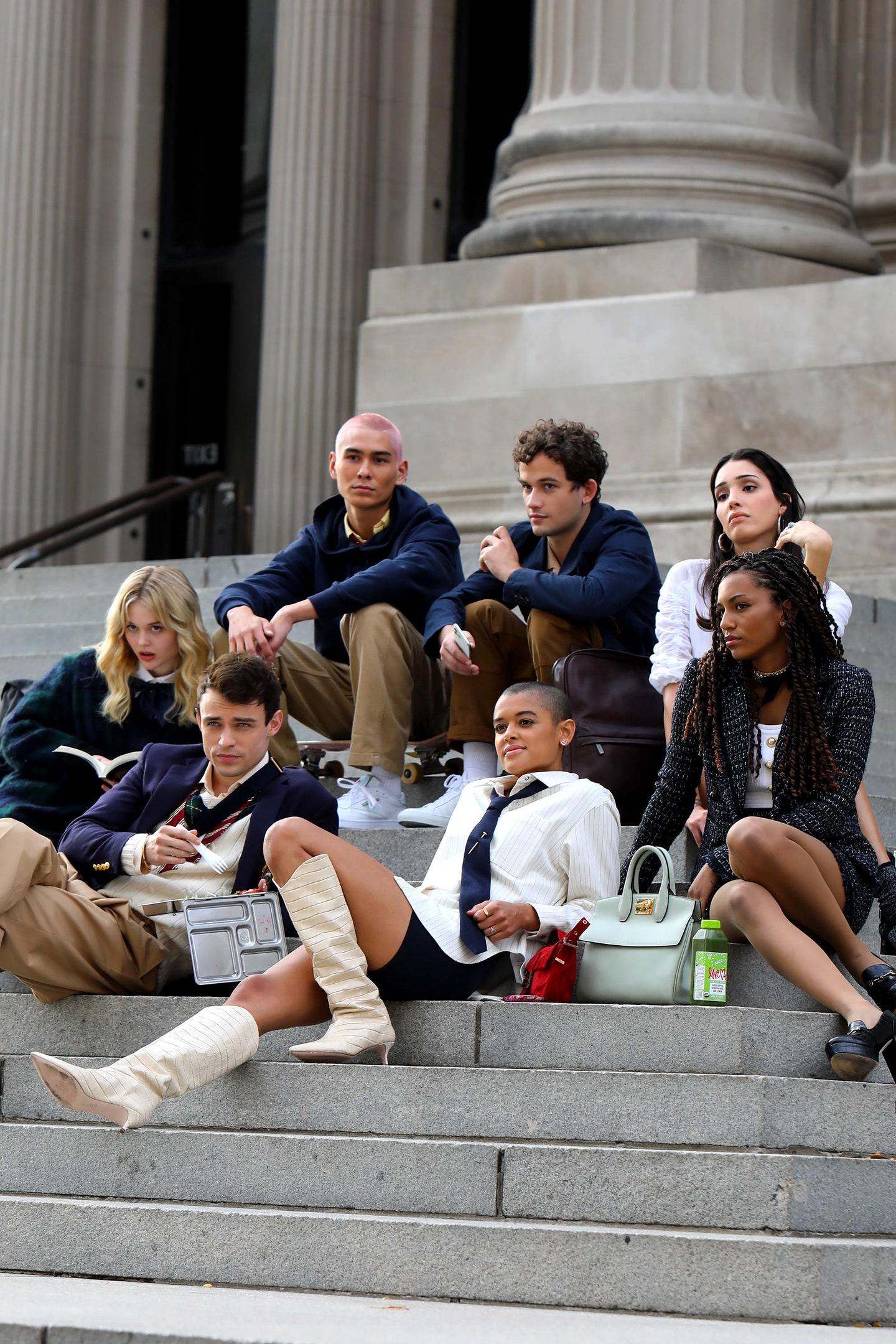 El reboot de 'Gossip Girl' ya es una realidad: aquí las primeras imágenes