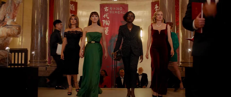 The 355: El thriller de mujeres con Penélope Cruz, Lupita Nyong'o, Jessica Chastain y Diane Kruger